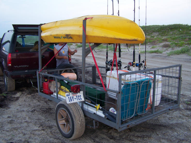 Shark Fishing Trailer