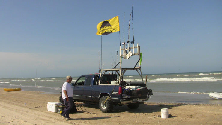 Pin surf gear how to on pinterest for Truck fishing accessories